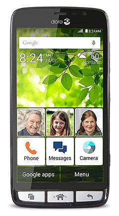 Doro 824 Senior-Friendly Android Phone-min