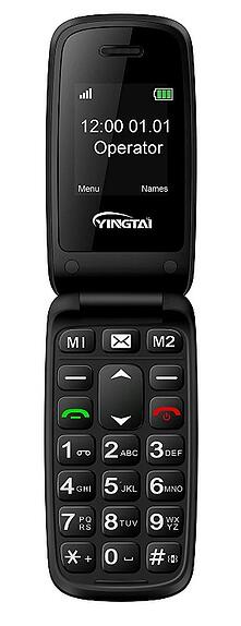 YINGTAI Big Button Flip Phone-min