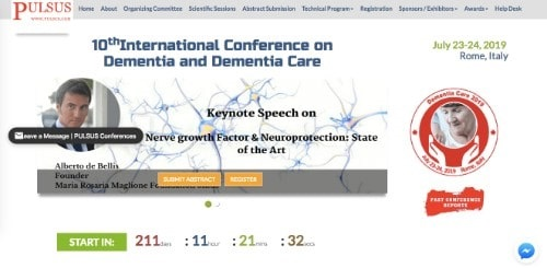 10th Annual Conference on Dementia and Dementia Care