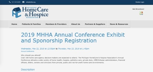 2019 MHHA Annual Conference