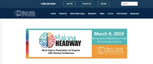 Brain Injury Association of Virginia 18th Annual Conference