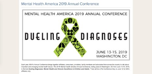 Mental Health America 2019 Conference