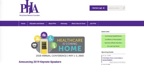 PHA 2019 Annual Conference