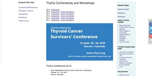 ThyCa Conference 2019