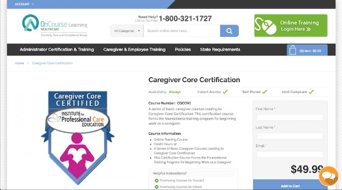 Institute for Professional Care Education-Caregiver Core Certification-min