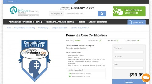 Institute for Professional Care Education-Dementia Care Certification-min