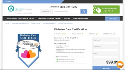 Institute for Professional Care Education-Diabetes Care Certification-min