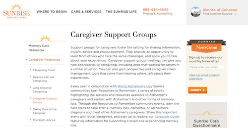 Cohasset Sunrise Senior Living Alzheimers DiseaseDementia Caregiver Support Group-min.png