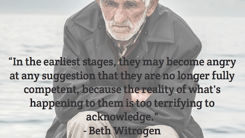 In the earliest stages they may - Beth Witrogen