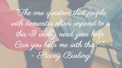 The one question - Stacey Burling