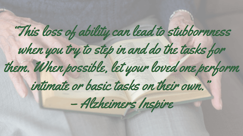 This loss of ability - Alzheimers Inspire
